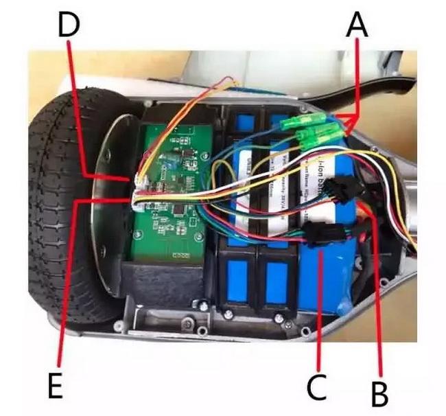 гироскутер в разборе1